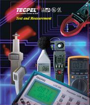 2010 TECPEL Test and Measurement General Catalog