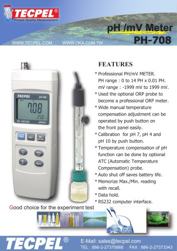 Digital Handheld pH meter_Electrodes