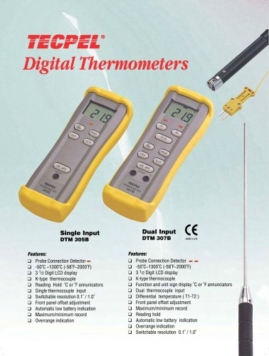 Industrial Thermometer, Temperature meter