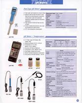pH meter, pH electrode, pH buffer soution