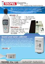 Sound Level meter and calibrator - 1
