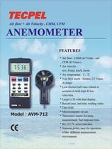 Tecpel Anemometer - 1