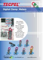 TECPEL Clamp Meters - 1