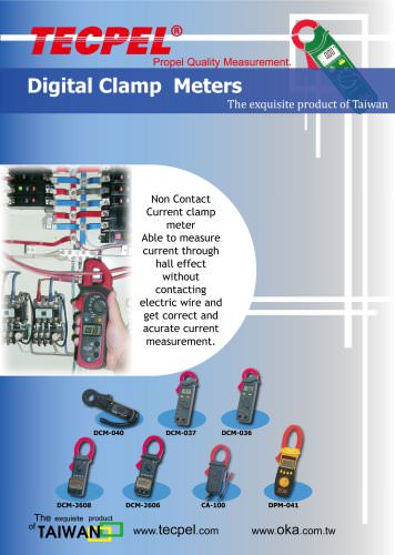 TECPEL Clamp Meters