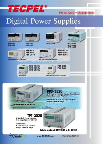 TECPEL-DC-Power-Supplies