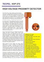TECPEL High Voltage Proximity Detector HVP-275 - 1