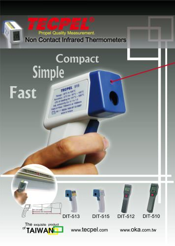 TECPEL Infared Thermometer
