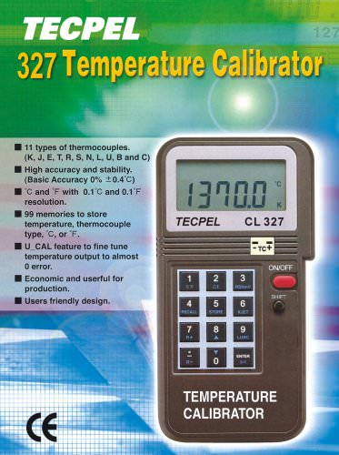 Tecpel Temperature Calibrator
