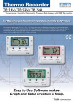 Temp/Humidity/Barometric pressure data logger with USB connection - 1