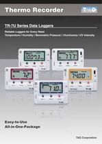 temperature Humidty air pressure, light data logger - 1