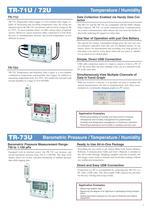 temperature Humidty air pressure, light data logger - 3