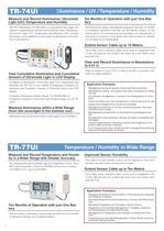 temperature Humidty air pressure, light data logger - 4
