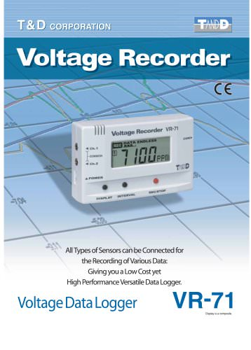 Voltage Recorder/ Datalogger