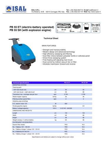PB 55 ET - PB 55 SH