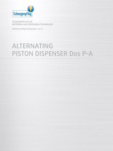Alternating Piston Dispenser Dos P-A