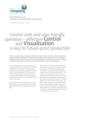 Control Units and Systems