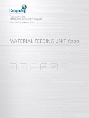 Material Feeding Unit A220