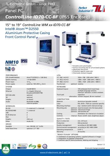 ControlLine ID70-CC-BF Series