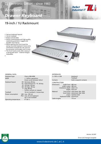 Drawer Keyboard