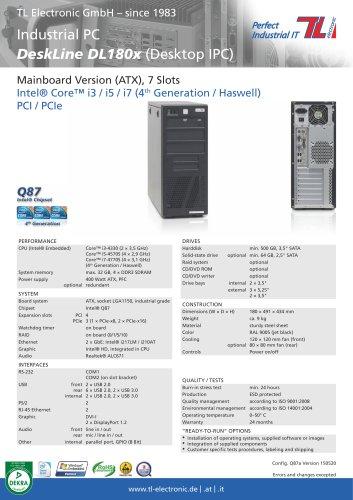 Industrial PC DeskLine DL180x Q87a