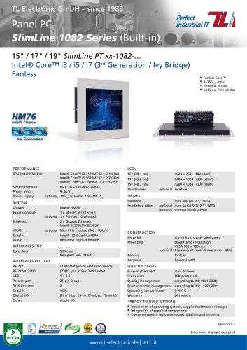 Panel PC SlimLine 1082
