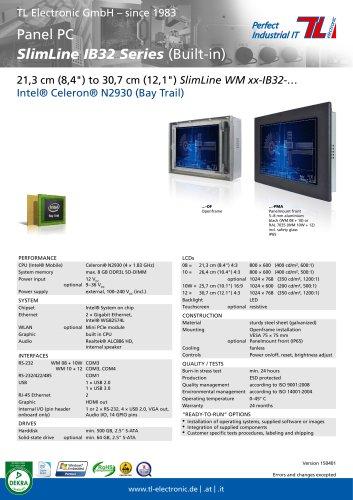 Panel PC SlimLine IB32