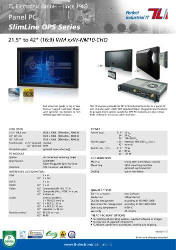 Panel PC SlimLine OPS