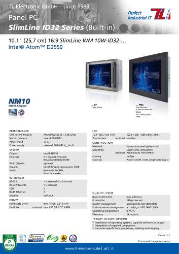 SlimLine ID32 Series