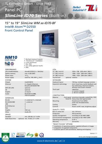 SlimLine ID70-BF Series