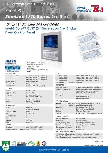 SlimLine IV70-BF Series