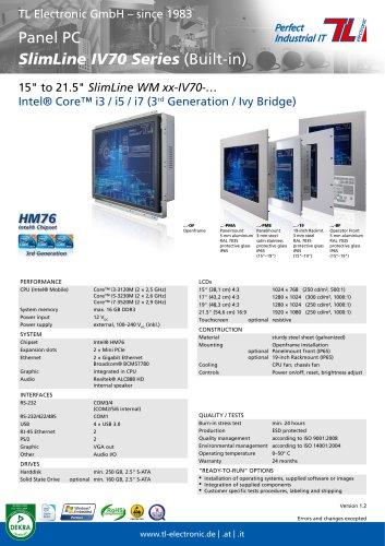 SlimLine IV70 Series