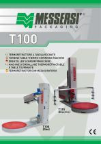 T100/T110 turntable thermo-shrinking