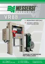 VR88 automatic vertical strapping machine