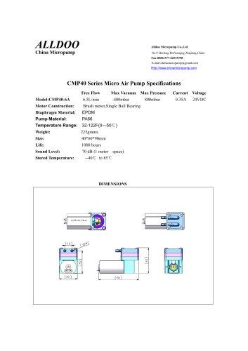 Diaphragm Micropump