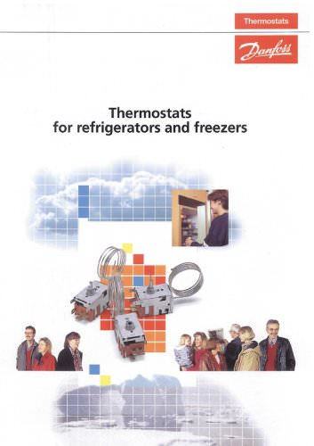 Thermostats for refrigerators and freezers