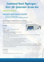 The « Modular Rack Gas Generators » Solution - 10