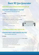 The « Modular Rack Gas Generators » Solution - 12