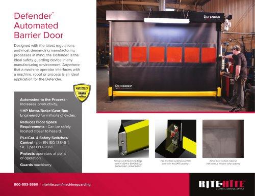 Defender: Automated Barrier Door