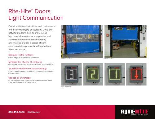 Door LED Communication