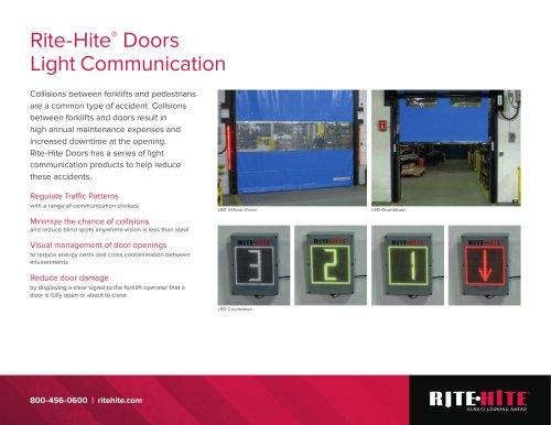 Door Light Communication