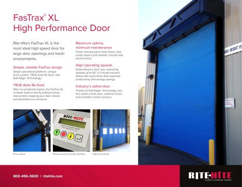 Fastrax XL Doors