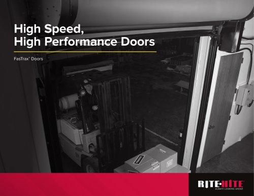 High Speed, High Performance Doors FasTrax® Doors