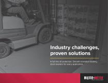 Industry challenges,  proven solutions