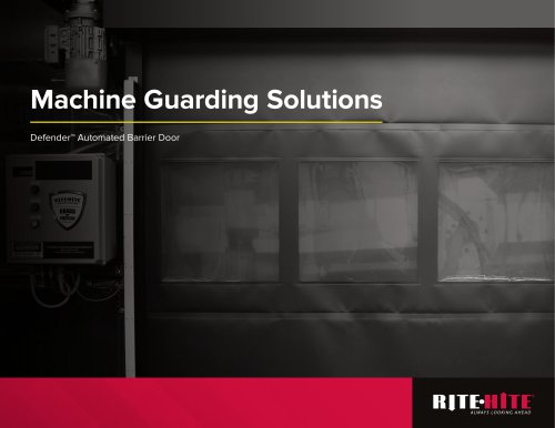 Machine Guarding Solutions
