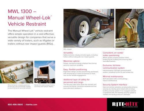 Manuel Wheel-Lok 1300