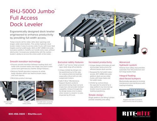 RHJ 5000 JUMBO dok leveler