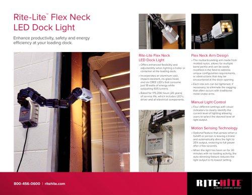 Rite Lite Flex Neck Dock Light