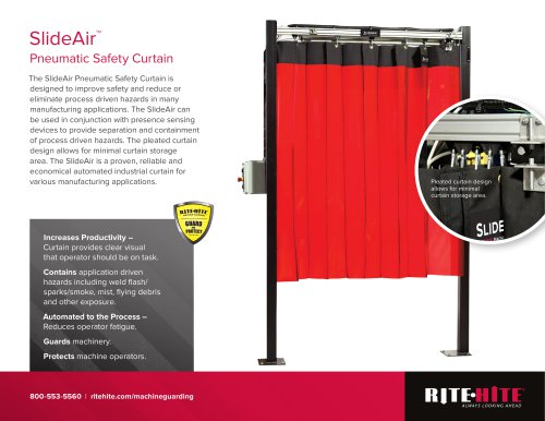 Slide-Air: Safety Curtain