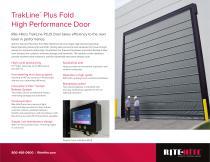 TrakLine™  Plus Fold High Performance Door