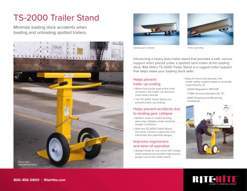 TS-2000 Trailer Stand